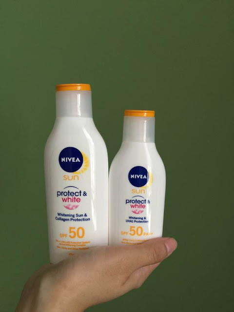 nivea sun protect and white lotion spf 50 PA ++ review