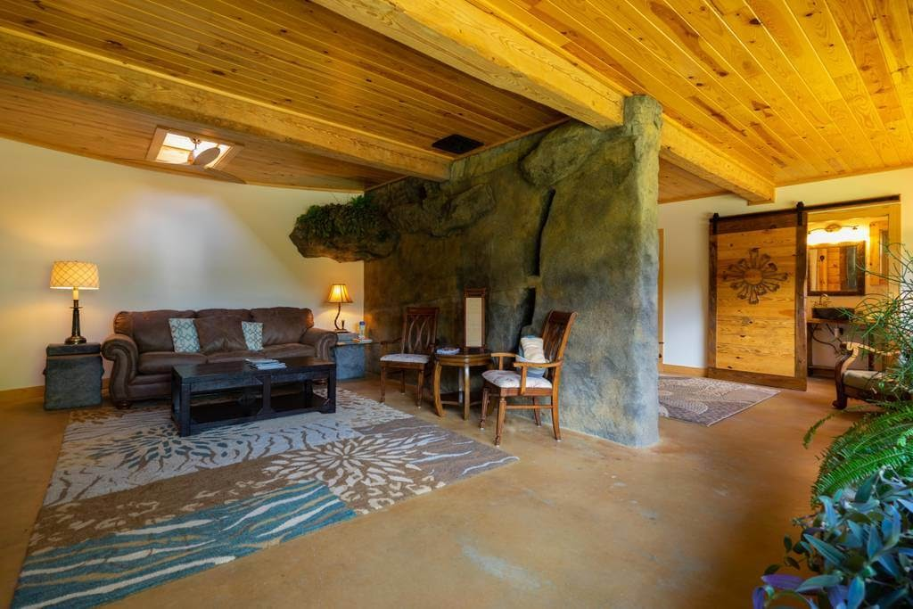 05-Living-Room-airbnb-The-Bedrock-Cave-Cottage-Architecture-www-designstack-co