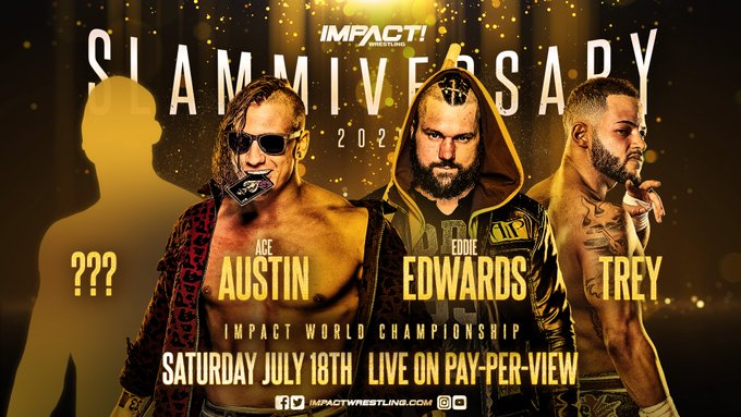 Updated Slammiversary Card, New Match Revealed