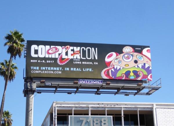 ComplexCon 2017 billboard