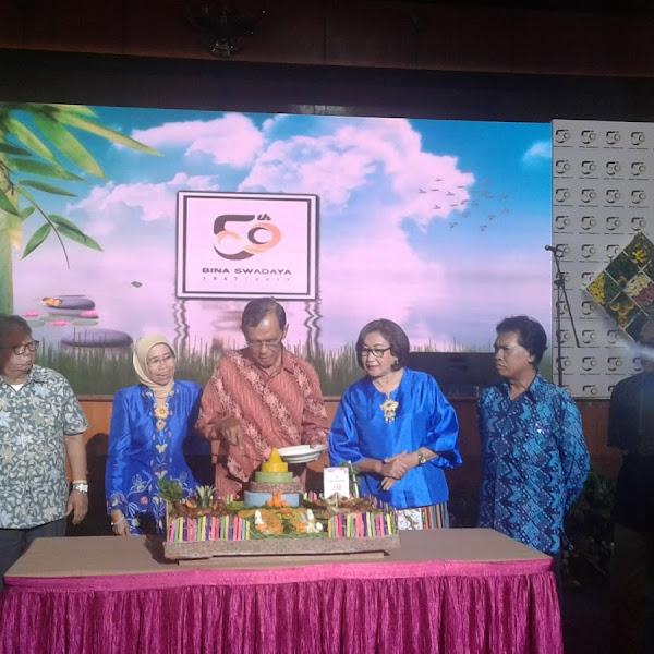 Perayaan ulang tahun Bina Swadaya ke 50th