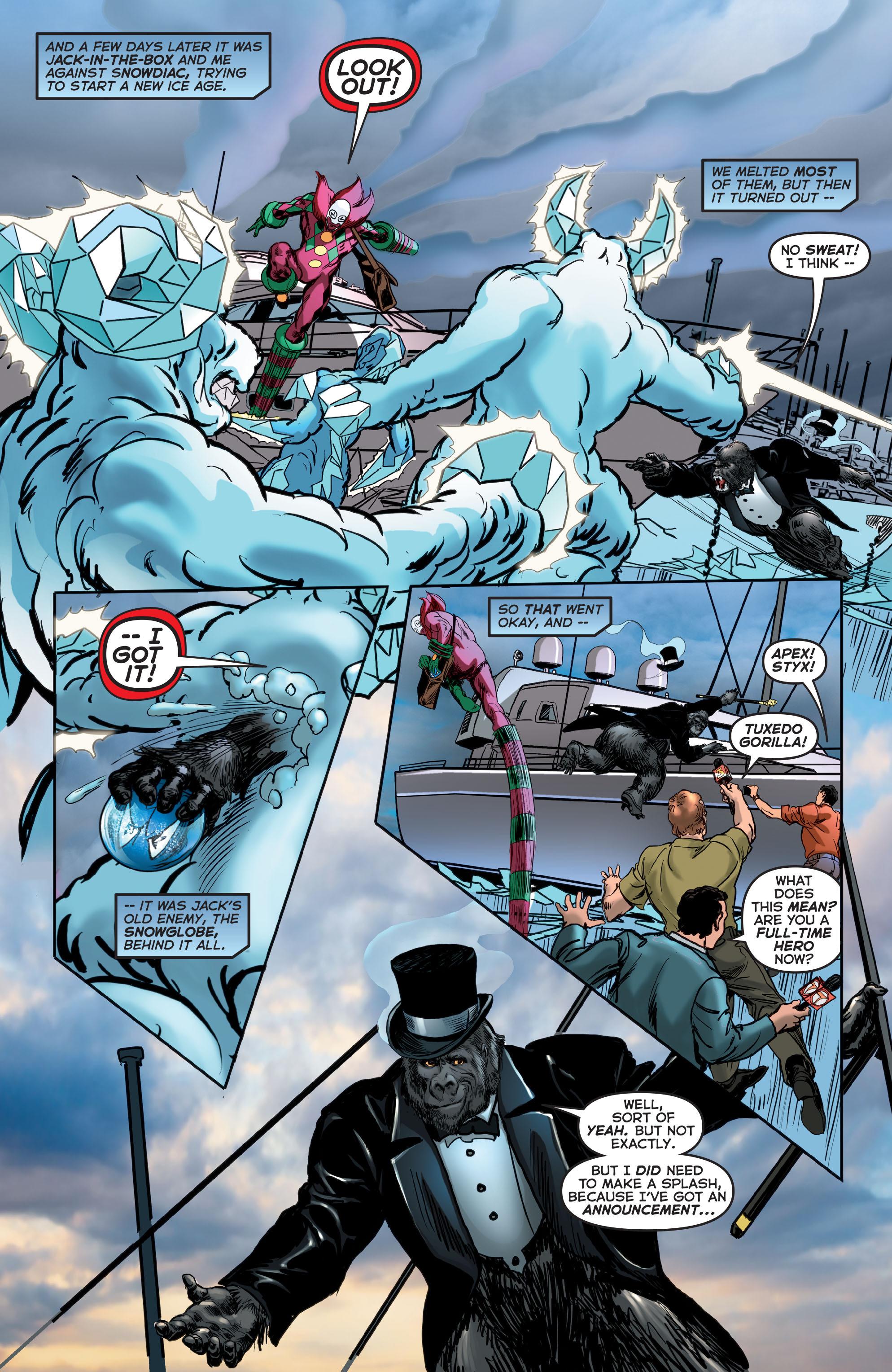 Read online Astro City comic -  Issue #24 - 22