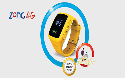 Zong Launched  'Kids Tracker' Watch
