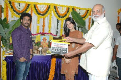 NTR Shruti Hasan new movie