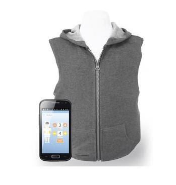 Tjacket smart pressure vest