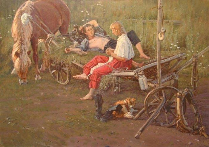 Талантливый живописец и неравнодушный человек. Андрей Подшивалов