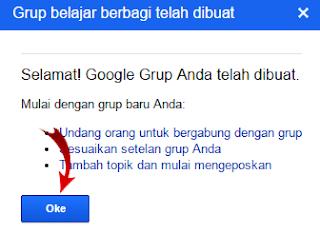 Langkah Keempat Membuat Grup Google