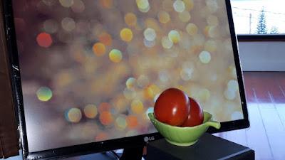Susunan objek dan latar belakang bokeh pada pembuatan foto boek menggunakan HP
