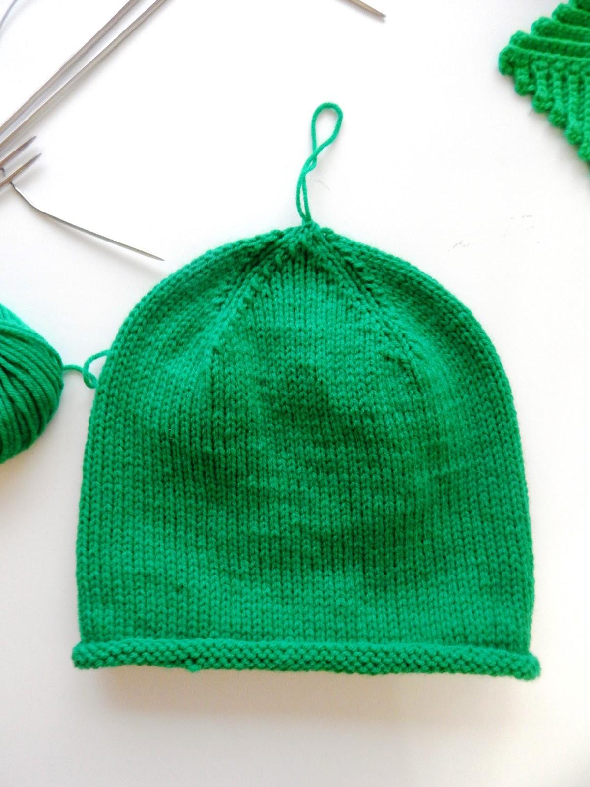 Как сделать убавки на шапке фото 495