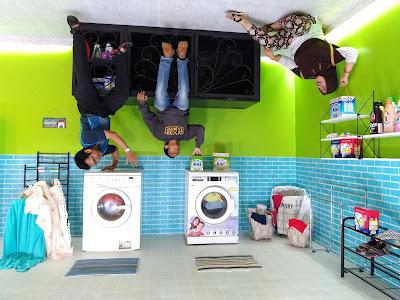 Laundry Rumah TERBALIK