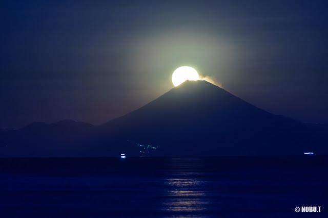 パール富士~北条海岸(千葉県館山市)