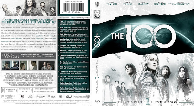 The 100 Season 1 Bluray Cover