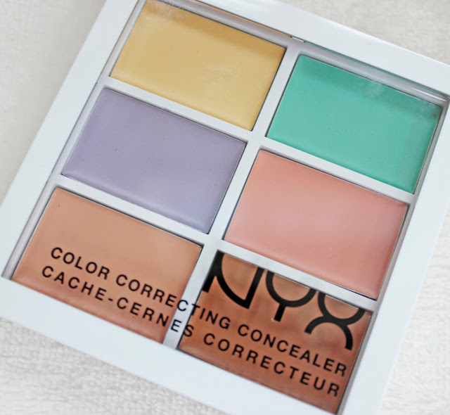 The NYX Colour Correcting Concealer Pallete | Tea And Beauty