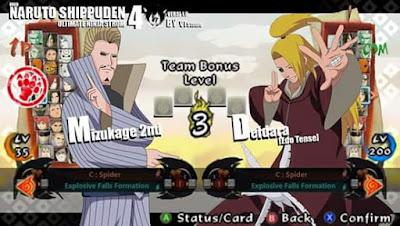 Mod Texture Naruto Ultimate Ninja Impact PSP