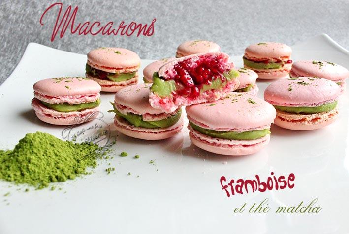 macarons matcha