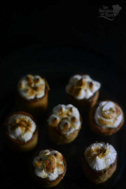 Timbal de galleta rellena con crema pastelera 03