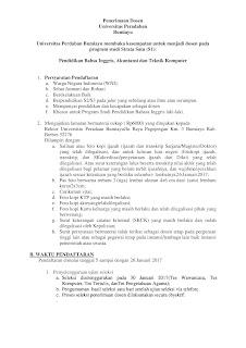 Lowongan Kerja Universitas Peradaban Bumiayu Brebes