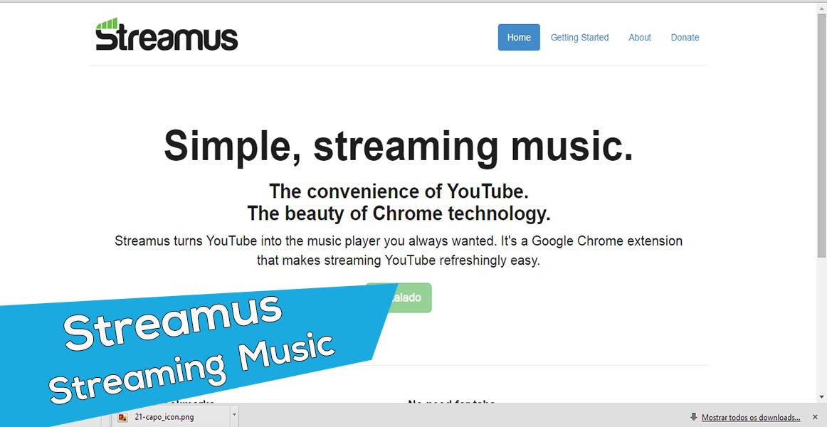Streamus, musicas, YouTube, Ga Tutoriais