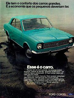 propaganda  Ford Corcel - 1973, carros Ford 1973, Ford Willys anos 70, carro antigo Ford, década de 70, anos 70, Oswaldo Hernandez,