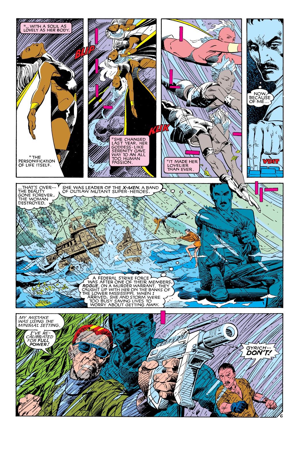 Uncanny X-Men (1963) issue 186 - Page 7