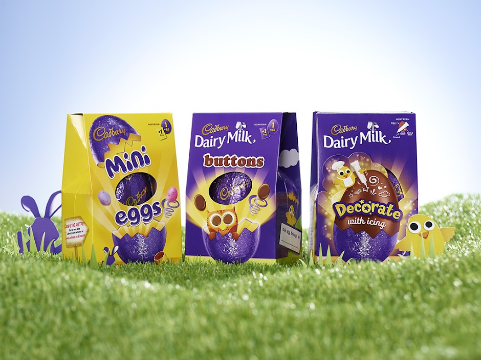 Cadbury Easter Range