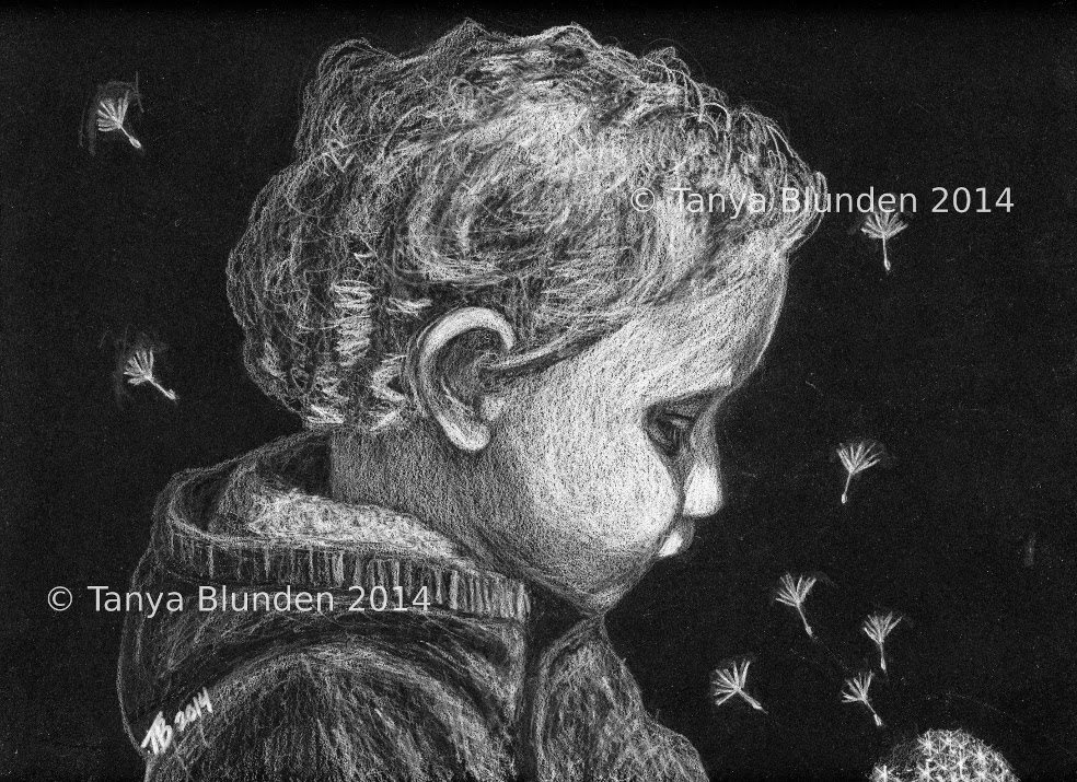 Dandelion Wish by Enchanted Visions Artist, Tanya Blunden