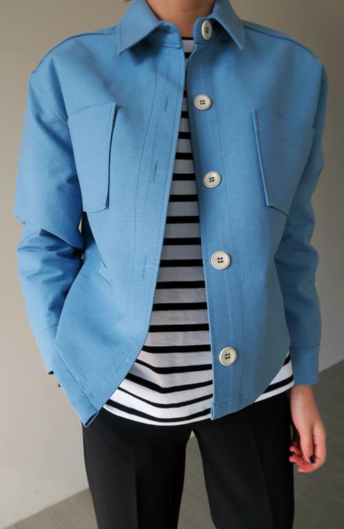 Sky Blue Jacket