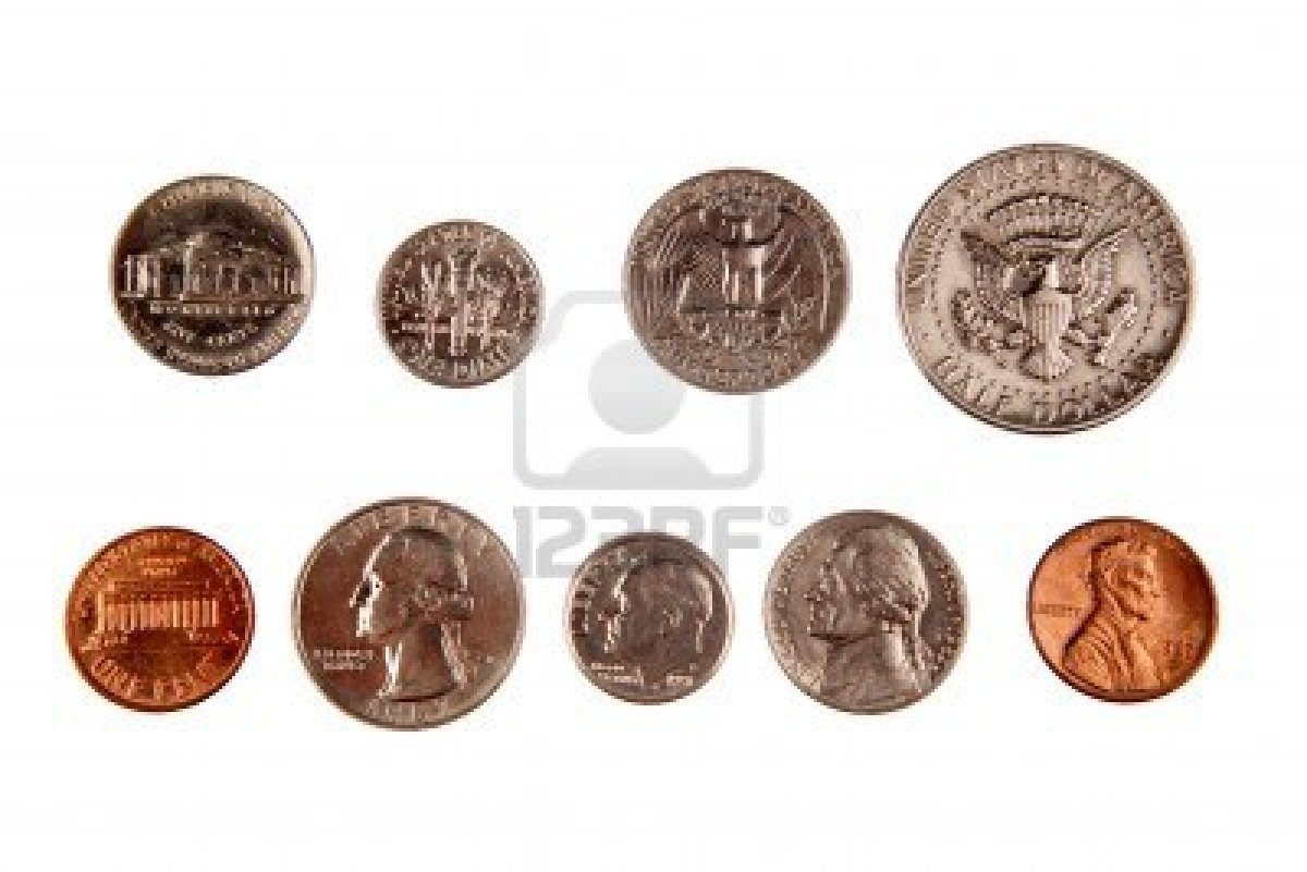 Identify Names And Values Of Common Coins