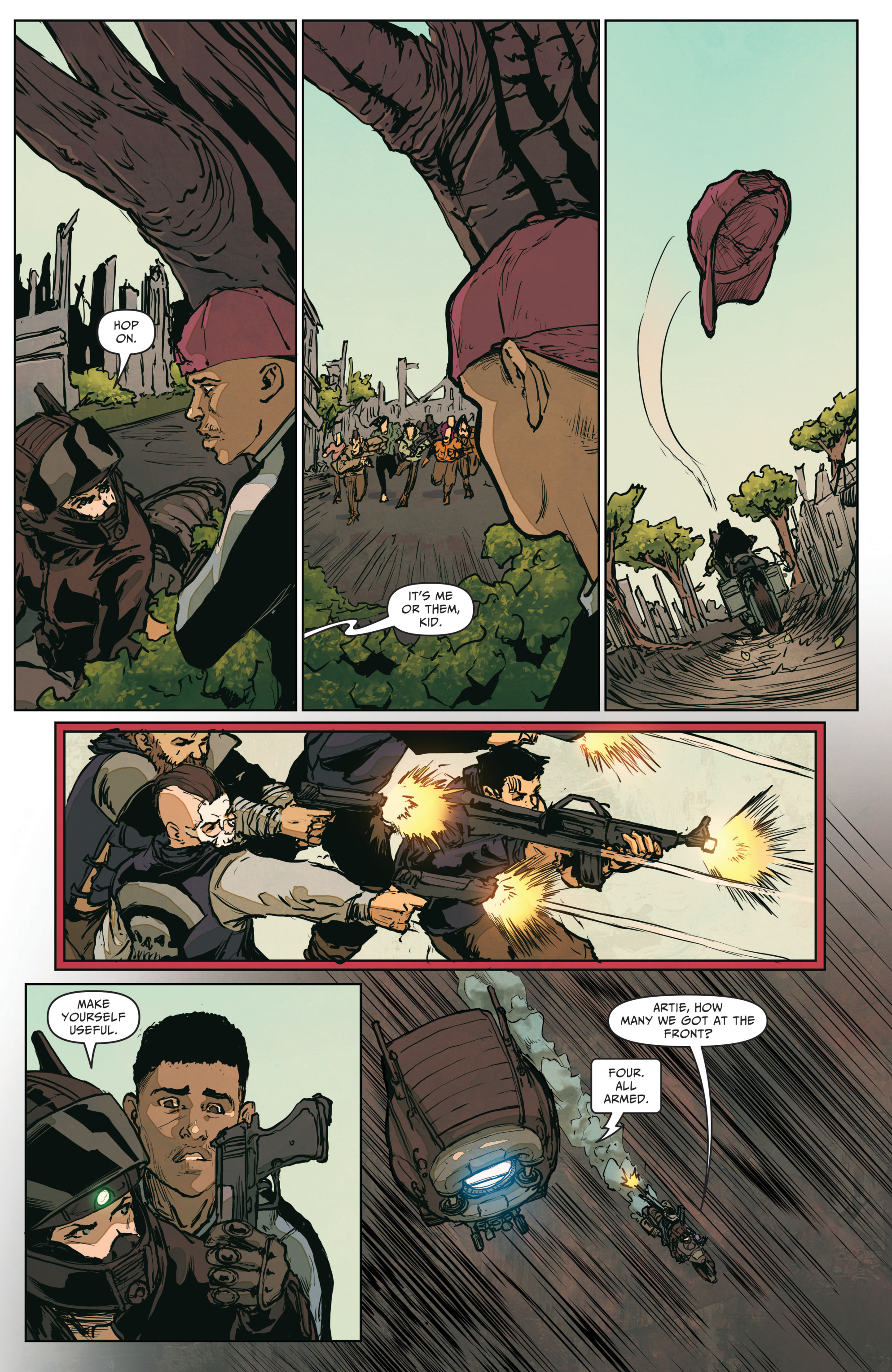 Read online The Courier: From the Ashes comic -  Issue #3 - 20