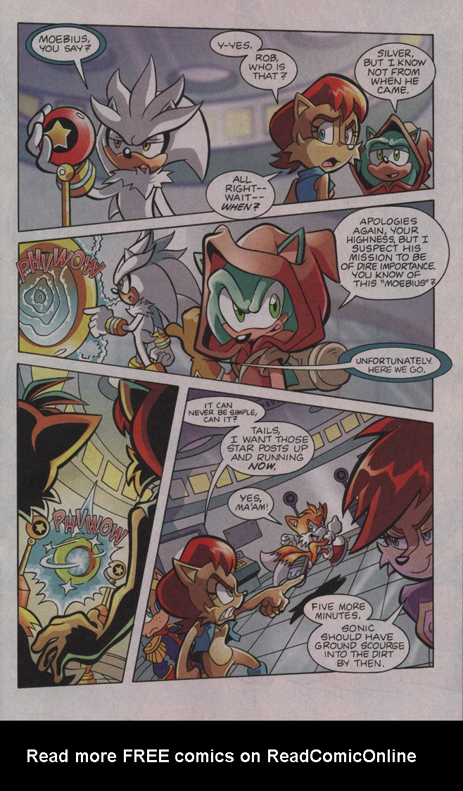Read online Sonic The Hedgehog comic -  Issue #195 - 11