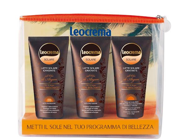 Leocrema Solare Argan, la cura e la bellezza della tua pelle durante l'esposizione al Sole