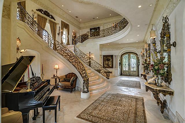 Mansions  More 20000 Sq Ft FrenchStyle Chateau in Texas