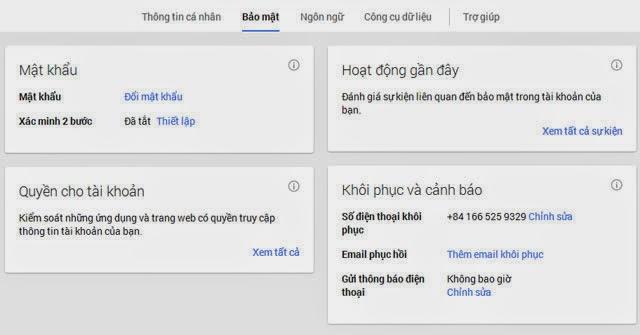 Cách bảo mật Gmail hiệu quả bằng điện thoại di động