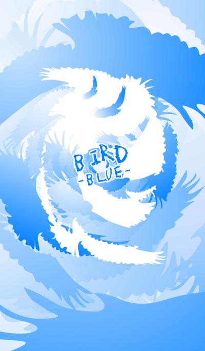 BIRD -BLUE-