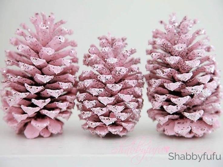 pink-pinecones-painting-shabbyfufu