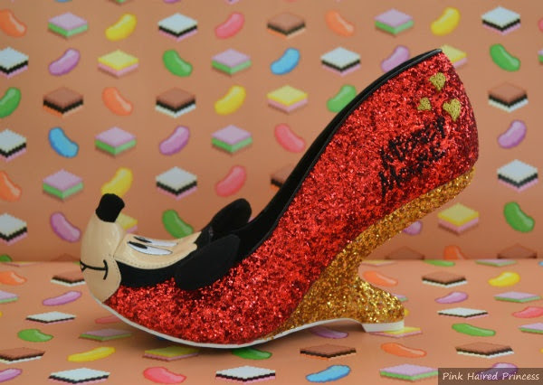 irregular choice oh boy mickey shoe