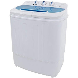 Rovsun Twin Tub Washer - Energy-Efficient Washing Machine
