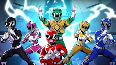 Game Playstation Power Rangers 2017