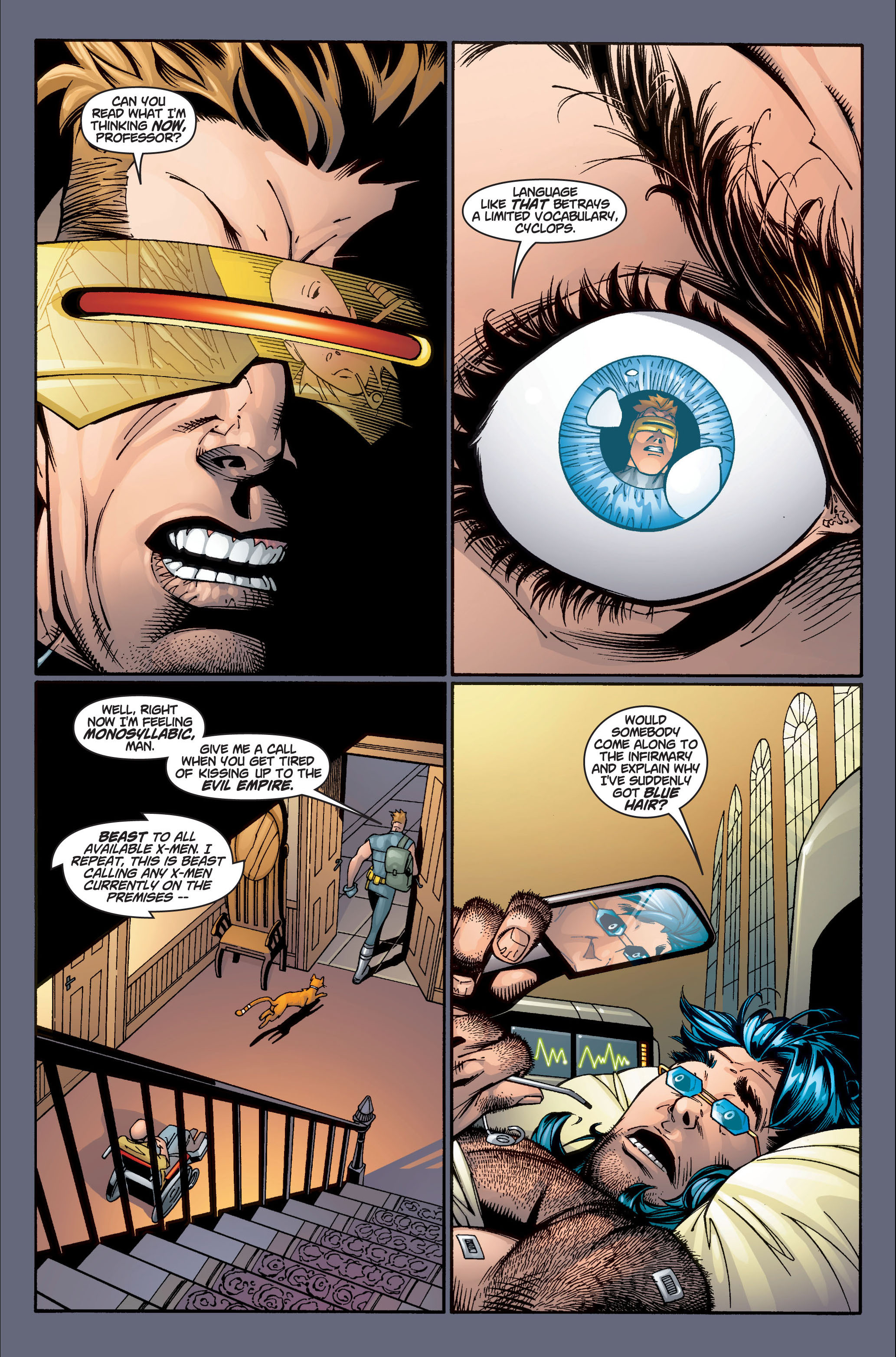 Read online Ultimate X-Men comic -  Issue #4 - 18