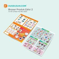 Dusdusan Brosur Produk 2020 Edisi 2 Paket 50 Lembar ANDHIMIND