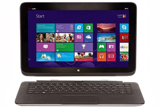Windows 8.1 Hybrid, HP Split X2