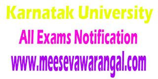 Karnatak University ALL U.G Ist/ IIIrd / Vth Semester/Non-Sem Nov 2016 Notification