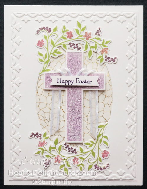Heart's Delight Cards, Hold on to Hope, Easter, Occasions 2018, Stampin' Up!