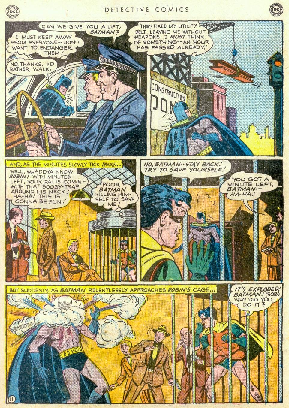 Read online Detective Comics (1937) comic -  Issue #163 - 12