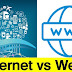 Differences the Internet vs the Web