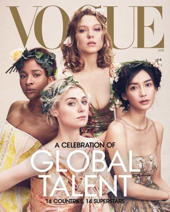 "She Looks Like A Slave "" – Nigerian Writer Slams Adesua Etomi's Vogue Cover"