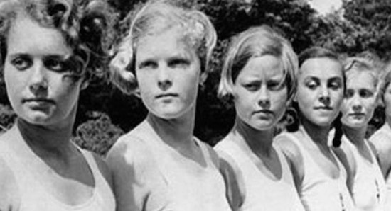 Wanita Jerman dalam program pengantin Nazi