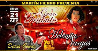 Tributo a Helenita Vargas en mes de Amor y amistad