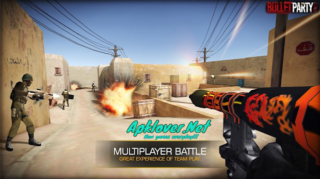 Bullet Party CS 2 MOD APK unlimited money