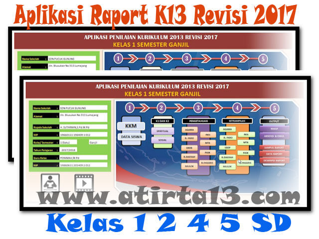 Download Aplikasi Raport K13 Revisi 2017